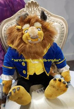 """Disney Parks Authentic BEAST Large Plush Toy 23"""" from """"Beaut"""