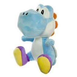 """1x Sealed Authentic 6"""" Light Blue Yoshi Super Mario Series P"""