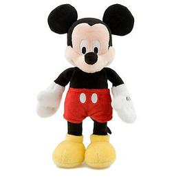 """Disney Authentic Mickey Mouse Classic Bean Bag Plush Toy 9"""""""