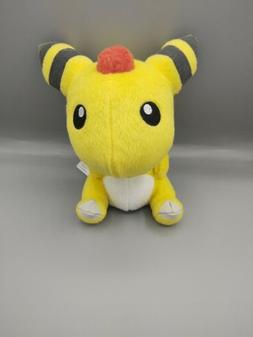 Authentic Pokemon Banpresto 2010 Ampharos Plush Stuffed Toy