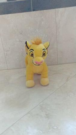 "Disney Authentic Simba Plush Toy Doll - 7"" H The Lion King S"