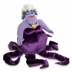 """Disney Authentic Ursula Villain Large Plush 14"""" H Little Mer"""