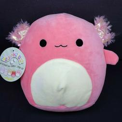 "Axolotl Squishmallow 8"" Plush Stuffed Animal Kellytoy 2020"