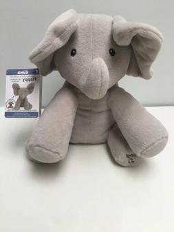 Baby Animated Flappy Elephant Plush Toy Gund- Sing & Play~Ne