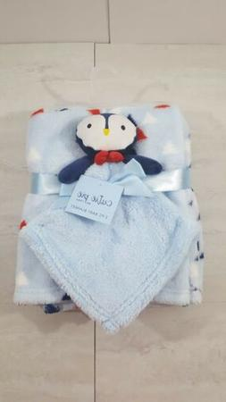 Baby Cutie Pie Soft Blanket And Plush Toy Set