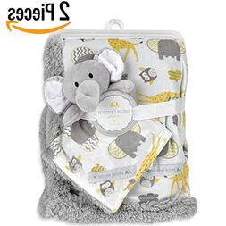 "Baby Blanket + Plush Toy Or Neck Pillow 30"" X 40""— Swa"