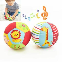 Baby Kids Animal Soft Plush Toys With Sound Rattles Infant B