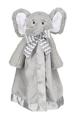 Bearington Baby Lil' Spout Snuggler, Gray Elephant Plush Stu