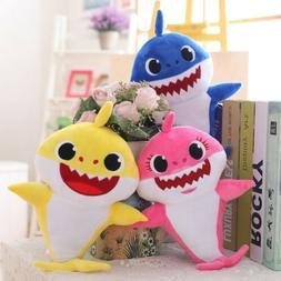 baby shark plush singing plush toys song