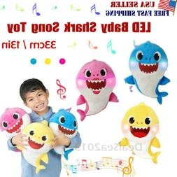 baby shark plush singing toys music doll