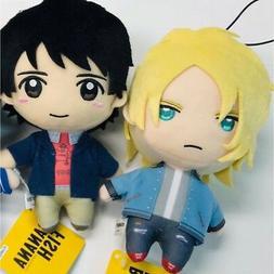 BANANA FISH ash & Eiji set Plush Doll 16cm Stuffed toy FURYU