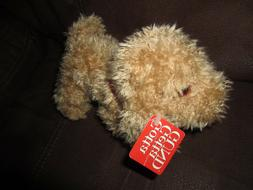 GUND Barky 5032 Puppy Dog Brown Plush Stuffed Toy Animal 8""