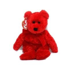 TY Beanie Baby - SIZZLE the Bear  - MWMT's