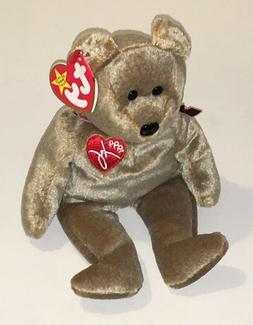 Ty Beanie Babies 1999 Signature Bear NEW Retired Stuffed Plu