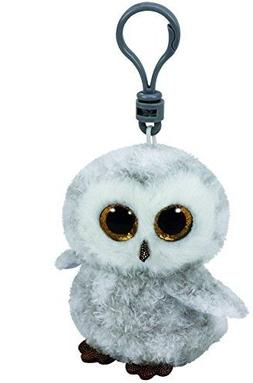 "TY Beanie Babies Boo's Owlette Owl Key Clip 3"" Stuffed Colle"