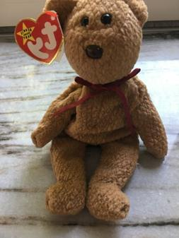 Ty Beanie Babies Curly Teddy Bears New Baby Toy Plush Stuffe