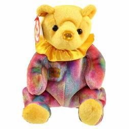 Ty Beanie Babies Happy Birthday Bear November Retired No Hat
