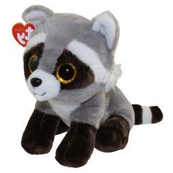 "TY Beanie Baby 9"" Medium BANDIT the Raccoon Stuffed Animal P"
