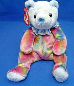 "Ty Beanie Baby ~ MARCH 2001 Birthday Bear  ~ Plush Toy ~7.5"""
