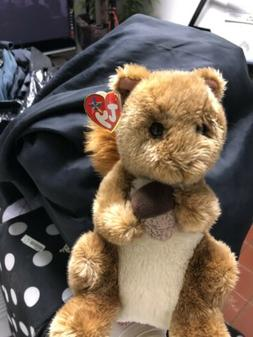 TY Beanie Baby - NUTTY the Squirrel  -Stuffed Animal Toy