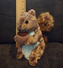 TY Beanie Baby - NUTTY the Squirrel  - MWMTs Stuffed Animal