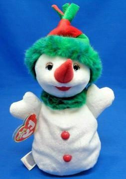 Ty Beanie Baby~ SNOWGIRL the Snowwoman ~Plush Toy~2000~Mint