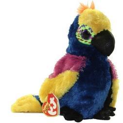 "Ty Beanie Boos 6"" WYNNIE the Parrot Plush Stuffed Animal Toy"