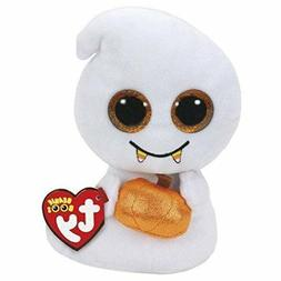"TY Beanie Boos 6"" SCREAM the Ghost Glitter Eyes Plush Stuffe"