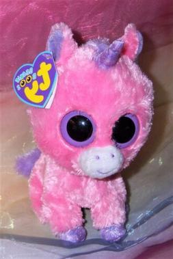 TY Beanie Boos - MAGIC the Pink Unicorn   - MWMTs Boo