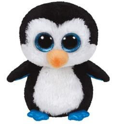 """TY BEANIE BOOS WADDLES THE PENGUIN 6"""" INCHES TY"""