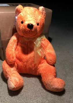 TY BEANIE BUDDY ~ TANGERINE the BEAR Mint Tags~Plush Toy~FRE