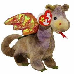 """TY Beanie Baby """"SCORCH"""" the DRAGON - MWMTs! PERFECT GIFT! A"""