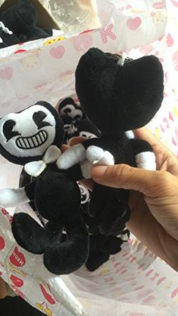 The Bendy Black Plush Doll Toys For Kids Happy Birthday Baby