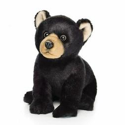Nat And Jules Black Bear Plush Toy Small Woodland Animal Pol