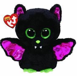 "Black Cat 6"" Ty Beanie Boos Puppy Glitter Big Eyes Plush Stu"