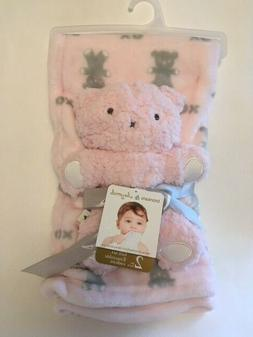 Blankets & Beyond Blanket and Plush Toy Gift Set Baby Gift P