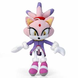 blaze the cat plush stuffed figures toys