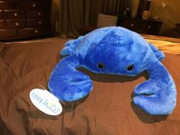 "WISHPETS Blue CRABBY 11"" ocean sea plush stuffed animal to"
