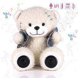 Bluetooth Speaker Teddy Bear, Plush Toy Portable Wireless Sp