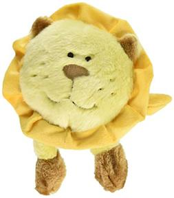 ZippyPaws Brainey Squeaky Plush Dog Toy, Lion