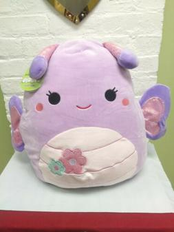 "Brand New XL 16"" Squishmallow Butterfly Purple Brenda Soft P"