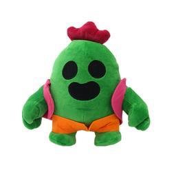 Brawl Cactus Figure Cuddly Soft Plush Toy Stuffed Doll Figur