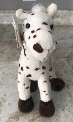 Wishpets Brown & White Pony Horse Plush Stuffed Animal 12""