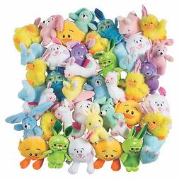 Bulk Easter Stuffed Animal Assortment - 72 Pc. - Toys - 72 P