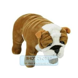 Bocchetta Plush Toys Bulldog Standing 38cm Animal Stuffed To