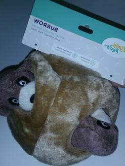 ZippyPaws Burrow, Meerkat Den Squeaky Plush Interactive Dog