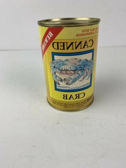 Canned Crab Novelty Toy Joke Gag Plush Stuffed Animal Grizzl