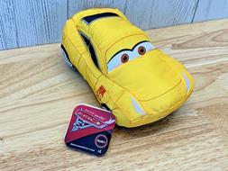 Disney Pixar Cars 3 Talking Cruz Ramirez Crash Me Plush Toy