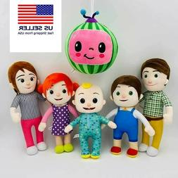 Cartoon Cocomelon JJ family Watermelon Plush Boy Soft Stuffe