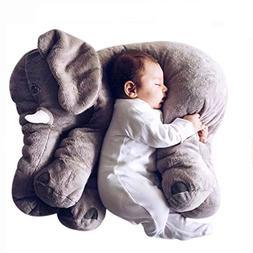 Mivera Cartoon 60cm Large Plush Elephant Toy Kids Make inter